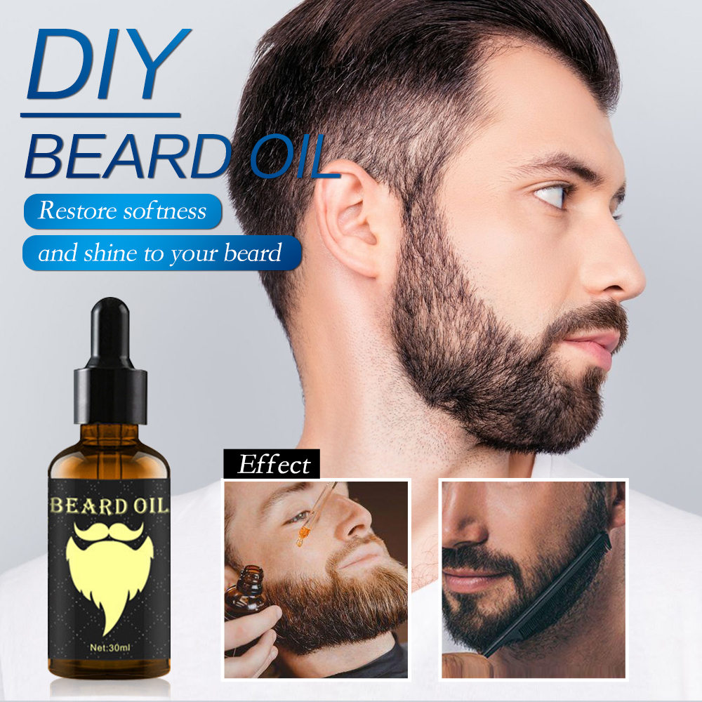 Beard Growth Essential Oil 100% Natural Beard Growth Oil Hair Loss Products For Men Beard Care Hair Growth Nourishing Beard Care