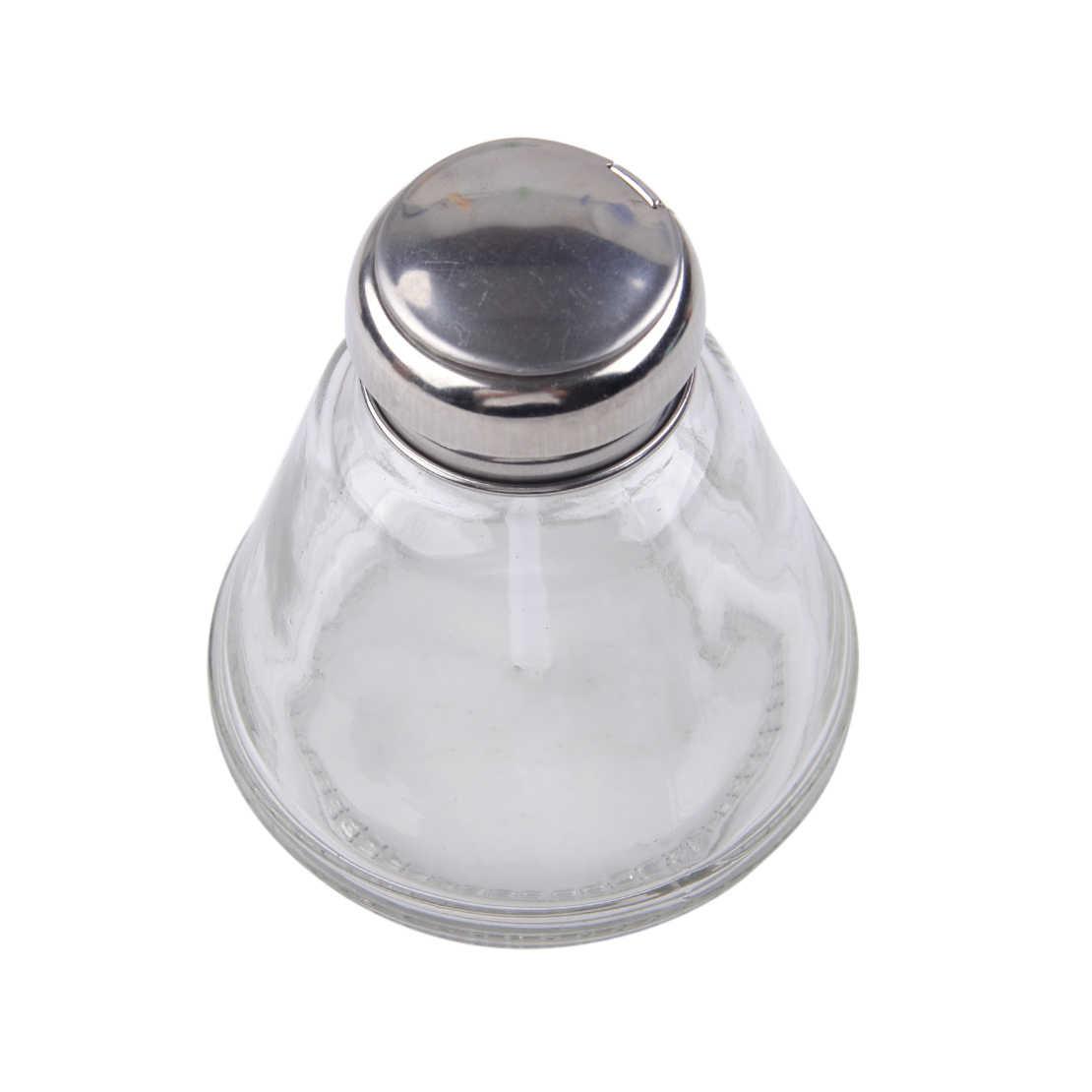 Letaosk Bình Thủy Tinh Báo Chí Loại Một-Cảm Ứng Chất Lỏng Bơm 150 Ml Cho Tẩy Sơn Trang Điểm Rượu