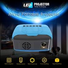 New 2020 U20 Mini Projector USB HDMI 1920*1080 LCD LED AV Video Portable