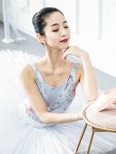 Afdrukken Ballet Dans Maillots Vrouwen 2020 Nieuwe Collectie Zomer Gymnastiek Dansen Kostuum Volwassen Hoge Kwaliteit Ballet Turnpakje