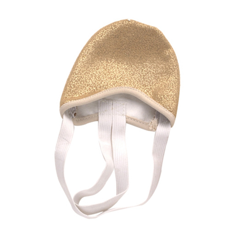 Half PU Leather Sole ballet pointe Dance Shoes Rhythmic Gym Slippers Foot FG