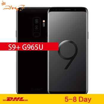 Samsung Galaxy S9 más S9 + G965U Original desbloqueado LTE teléfono móvil Octa Core 6,2 Dual 12MP 6GB RAM 64GB ROM NFC Snapdragon 845