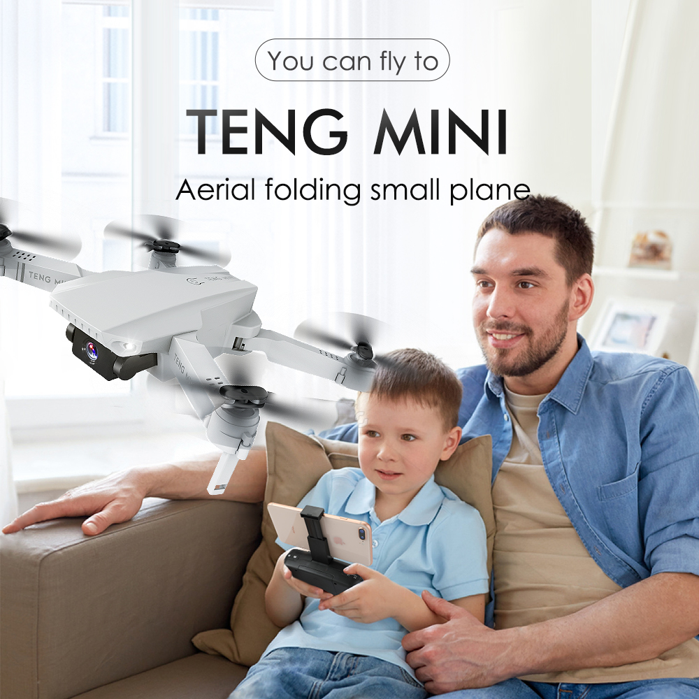 Profession Dron 4K HD Camera Adjustable Foldable FPV Quadrocopter Drone Mini Helicoptero Rc  WIFI Selfie Optical Flow Quadcopter