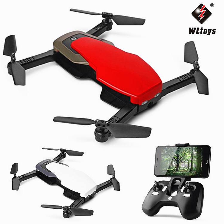 Weili Q636-b Folding Four-axis UAV (Unmanned Aerial Vehicle) Optical Flow Positioning WiFi Real-Time Aerial Photography Set High