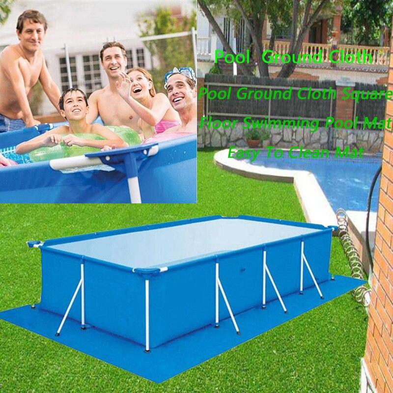 Cubierta de piscina, alfombrilla para piscina, suelo de piscina, tela de gran tamaño, cubierta de labios, a prueba de polvo, Alfombra de piscina plegable resistente a los rayos UV 1