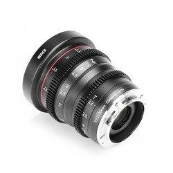 Meike 25mm T2.2 Manual Focus Portrait Cine Lens for For fuji X-Mount /For Olympus Panasonic M4/3 Mount X-Pro1 X-Pro2 X-E1 X-A1