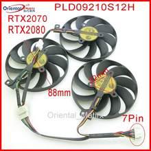 Pld09210s12h t129215su 12v 88mm para asus rog STRIX-RTX 2070 rtx2080 ROG-STRIX-RTX2070S super fã de refrigeração da placa gráfica