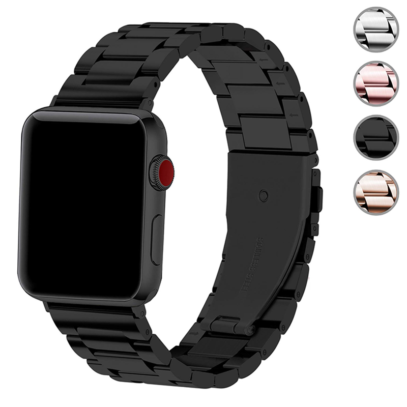 Metal Strap For Apple Watch 4 5 Band 44mm 40mm Apple Watch Band 42mm 38mm Iwatch Series 5/4/3/2/1 Stainless Steel Bracelet Belt
