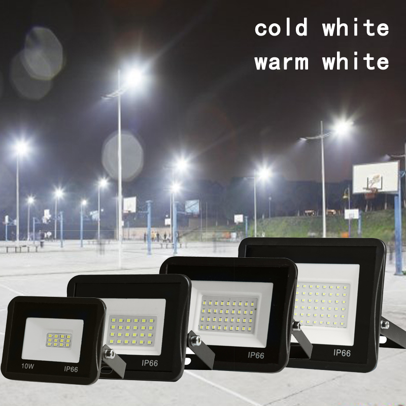 10w 20w 30w 50w 70w 100w led flood light RGB AC85-265V & DC12V square search floodlights led lamp recessed led outdoor lights