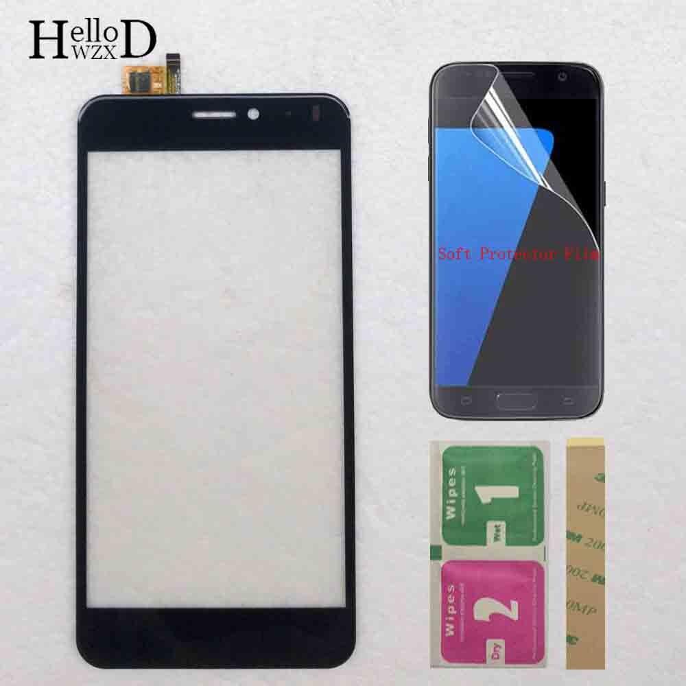 Touch Screen Panel For Vertex Impress Lion 4G Touch Screen Lens Sensor Digitizer Panel  3M Glue Protector Film