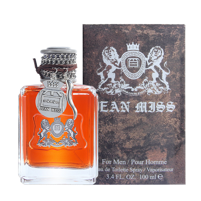 JEAN MISS 100ML Perfume For Men Long Lasting Eau de Toilette Temptation Pheromones Parfum Male Spray Bottle Cologne Fragrance