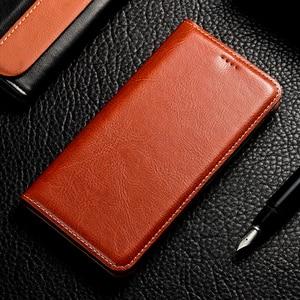 Image 3 - luxury Genuine Leather Case For Lenovo Vibe K3 K5 K6 Z5 A5 S5 Power K8 K10 Note Plus 2018 Play Pro Case Crazy Horse Flip Cover