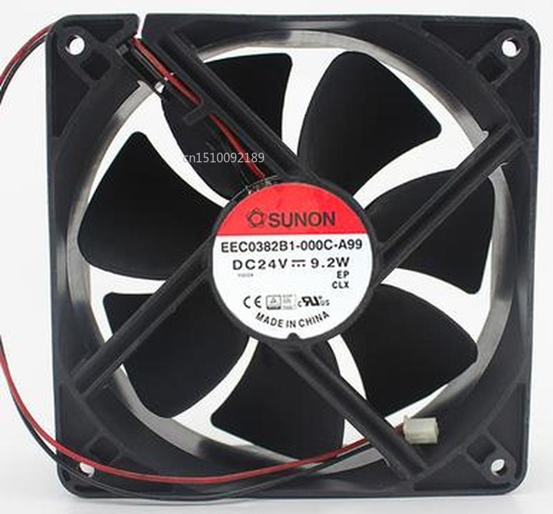 For Brand  Original EEC0382B1-000C-A99 12038 24V 9.2W Free Shipping