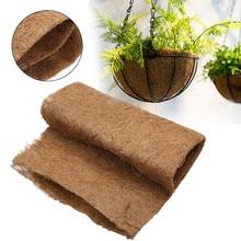 1 лист Садовые принадлежности нескользящий коврик 60*85 см для кашпо садовый растительный коврик Коко лайнер рулон натуральное кокосовое волокно