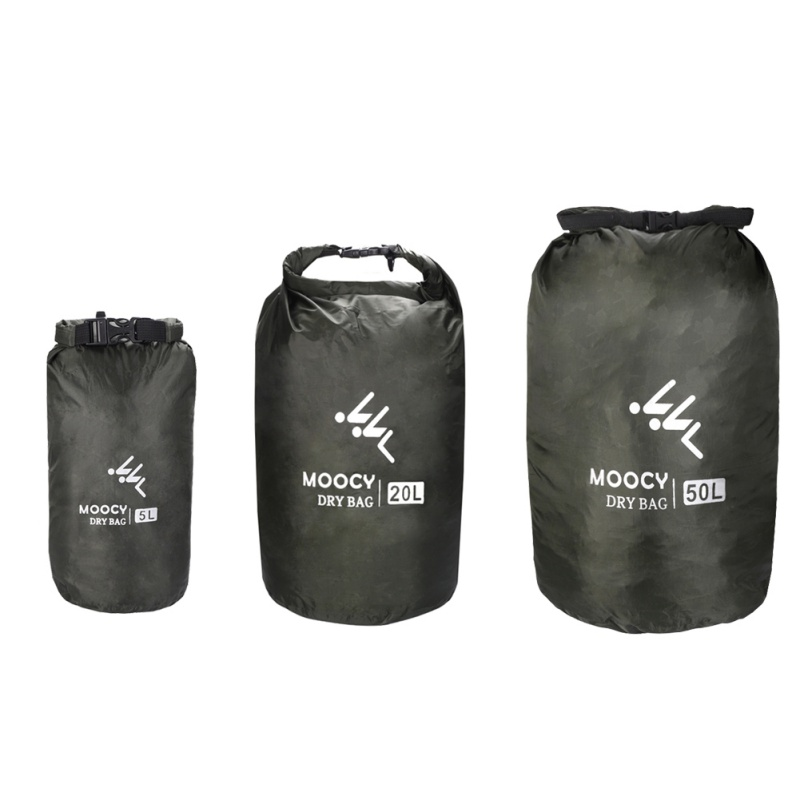 5L/20L/50L Waterproof Dry Bag Roll Top Sack Rafting Boating Swimming Organizer Beach Storage Bag Outdoor Kayak Drifting Bag