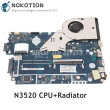 NOKOTION-placa base para ordenador portátil Acer aspire E1-510, E1-510-2500, Z5WE3, LA-A621P, NBC3911001, NB.C3911.001, N3520
