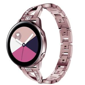 Active 2 correa для samsung gear s3 frontier galaxy watch 46 мм ремешок для huawei watch gt 2e amazfit bip ремешок 20 мм 22 мм браслет