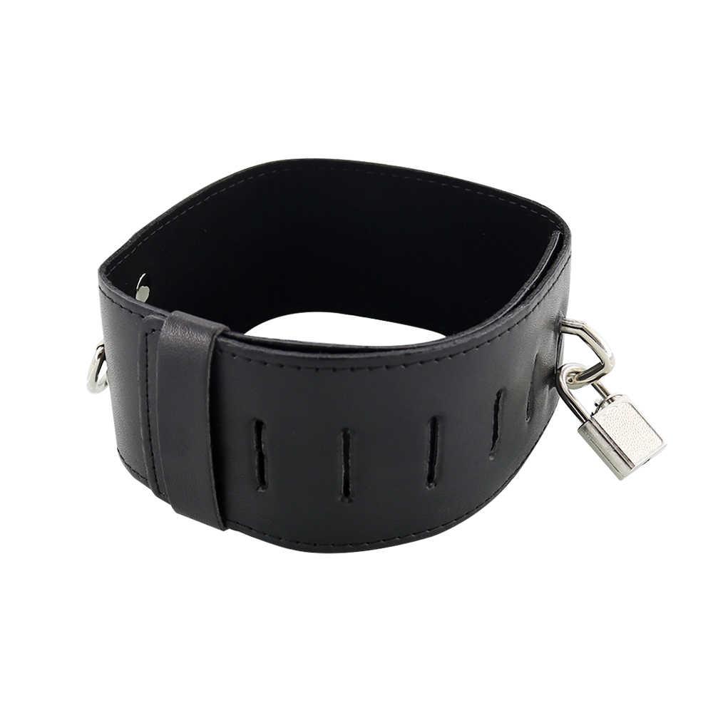 Exvoid Slave Lock Kraag Bdsm Bondage Sex Producten Volwassen Spelletjes Slave Restraints Hals Kraag En Leash Speeltjes Voor Koppels