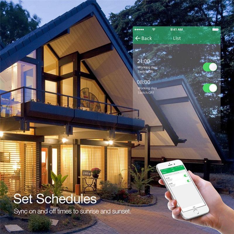 16A Tuya Wifi Smart Plug Draadloze Power Adapter Remote Voice Control Timer Power Energy Monitor Socket Voor Alexa Google Thuis 2