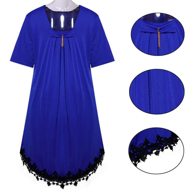 5XL 6Xl Plus Größe Sommer Kleid Frauen Casual Sommer Mini Backless Spitze Kleid Quaste Sexy Strand Kleider Party Vestidos