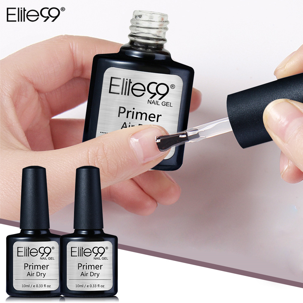 Elite99 Primar No Need UV LED Nail Art Acrylic No-acid Primer Without Acid Base Coat Nail Polishes Gel Lacquer Varnish Nail Gel