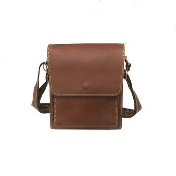Shoulder Bag Men Leather Men's over-the-Shoulder Bag Atmospheric  Shoulder/Crossbody Bag