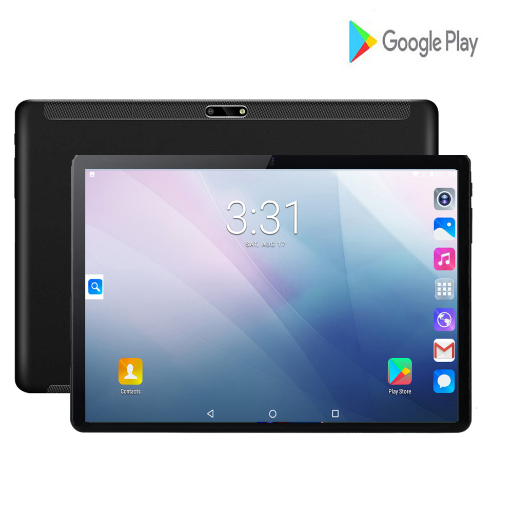 2020 Newest 10inch Tablets PC 3G Wifi 2.5D Tempered Glass 3000mAh Android 7.0 OS GPS 2GB RAM 32GB ROM IPS Quad Core Tablet 10.1