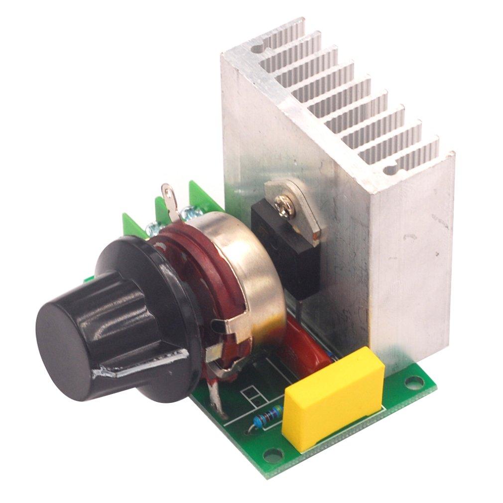 AC220V 2000W Electronic Imported Thyristor High Power Dimmer Regulator Speed Control Temperature Regulation Voltage Regulators
