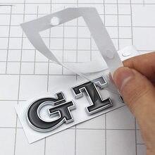 Adesivos de carro para gti chrome emblema adesivo personalizado caixa cauda adesivo para vw polo golf 6 7 estilo do carro adesivo