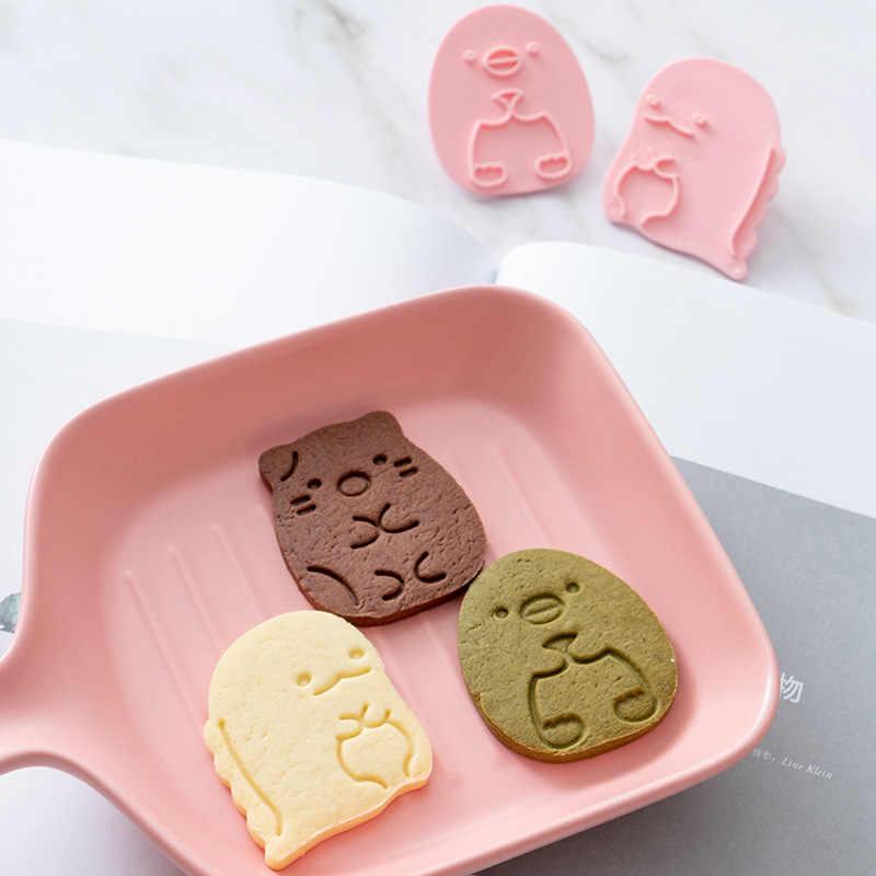 6 Cái/bộ Khuôn Cắt Cookie Hình Fondant Cắt Góc Nhựa Sinh Học Hình Bánh Quy Khuôn Tự Làm Fondant Bánh Ngọt Trang Trí Làm Bánh Dụng Cụ Nấu Ăn