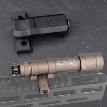Surefire – support de Scout latéral M600 M300 lampes ARISAKA 90 ° Picatinny pour pistolet jouet Gel Blaster Airsoft AEG BCM MK4 MK8 MK16 SMR SLR
