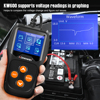 KONNWEI KW600 Car Battery Tester 12V Analyzer 100 to 2000CCA Test Battery Health Faults 12V Digital Color Screen Auto Diagnostic review