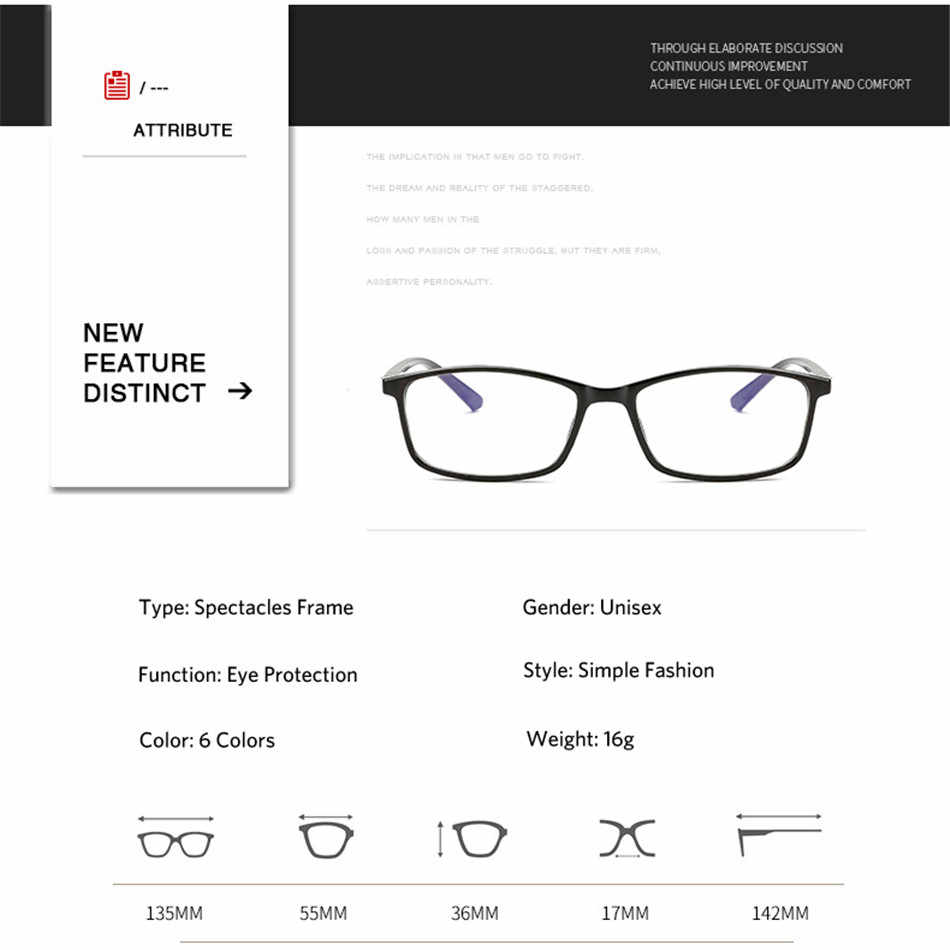 Iboode 0 -1.0 -1.5 -2.0 -2.5 -3.0 -3.5 -4.0 acabado miopia óculos homens mulher anti raios azuis praça estudante miopia óculos quadro