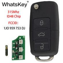 Комплект автомобильных ключей whatskey для vw/volkswagen beetle