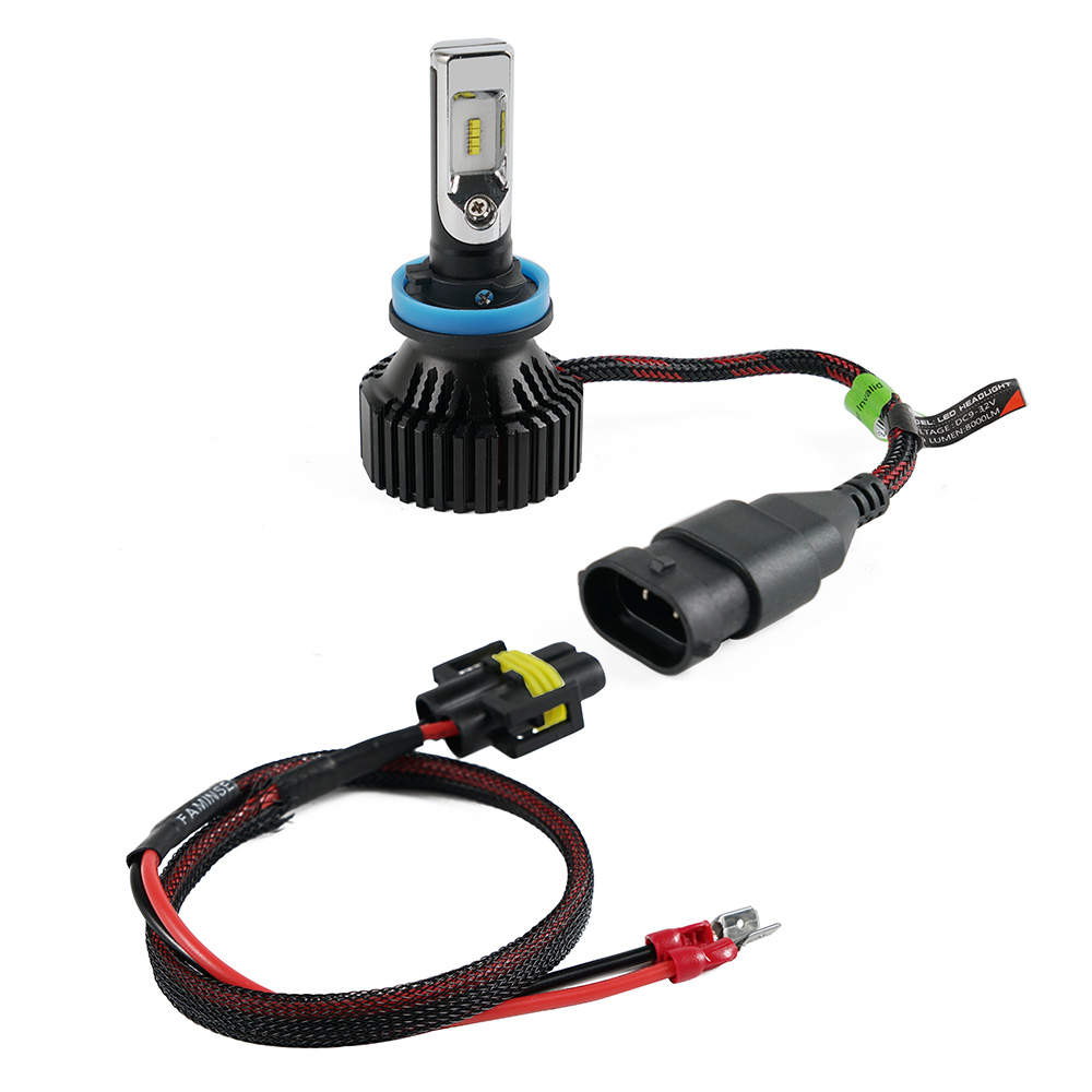 H11B H11 LED Headlight Plug Extension Cable Wiring Harness