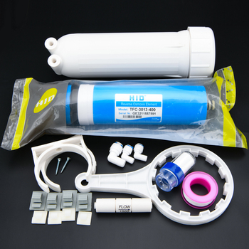 """400 gpd RO membrane 3013-400+3.8"""" x 13"""" RO membrane housing +all fittings for Water Filter Free Shipping"""