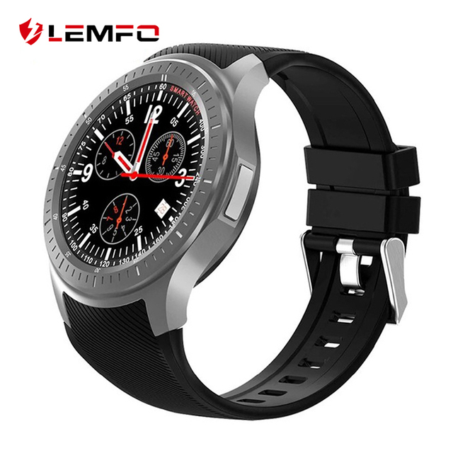 LEMFO LF25 4G 1.3 Inch IPS HD Display Smart Watch Android 7.1.1 GPS Bluetooth 1GB +16GB 600Mah Big Battery Sport Smartwatch Men