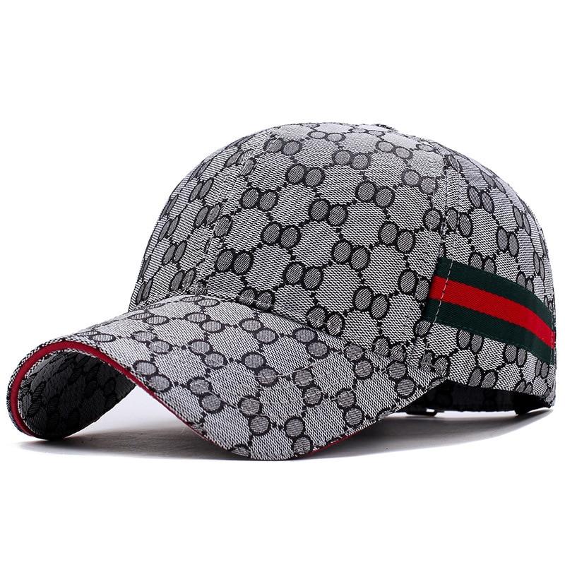 Gorras de béisbol ajustables de sarga de algodón, Hip Hop, unisex