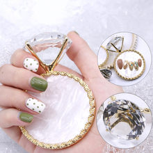 1PC Diamond False Nail Art แผ่น(China)