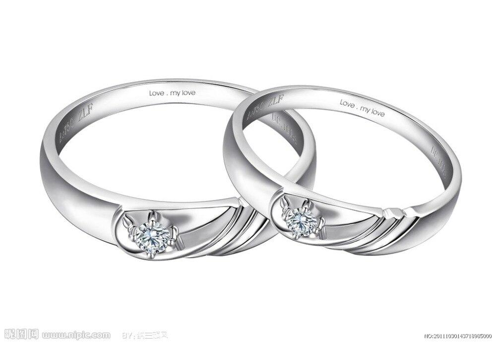 SBR007 bagues de mariée pour femmes en argent Sterling 925 bague de fiançailles de mariage zircon cubique rond pierre bijoux