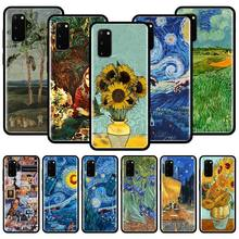 Van Gogh Oil Painting Silicone Phone Case For Samsu