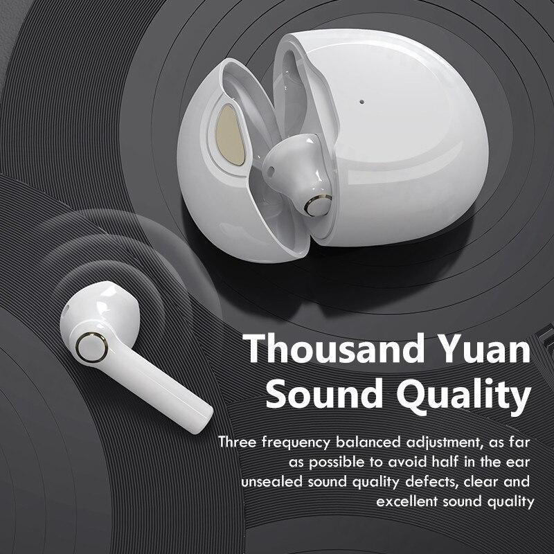 Беспроводные наушники с микрофоном, TWS наушники Bluetooth 5,1, спортивные водонепроницаемые беспроводные наушники, HiFi наушники-вкладыши, гарниту...