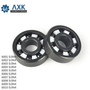 6000 6001 6002 6003 6004 6005-6010 Full Ceramic Bearing ( 1 PC )Si3N4 Material 6000CE All Silicon Nitride Ceramic Ball Bearings