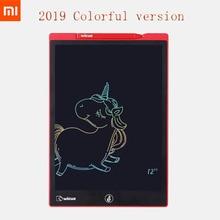 Novo xiaomi wiscue 12 Polegada s/10 Polegada lcd placa de escrita tablet desenho digital imagine almofada expansão idéia caneta para crianças