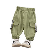 Casual Pants Work-Trousers Clothing Spring Autumn Baby-Boys-Girls Kids Cotton Children