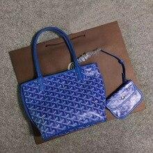 Fashionable Mini beach shopping bag, simple, double-sided, dog teeth, letter bag, Thatcher, new 2020