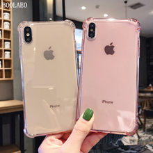 Luxury for apple iphone 11 Fashion Shockproof Silicone coque Phone Case For iPhone 7 6 6s 8 Plus Simple colorful Soft TPU Case for iphone 11 pro X XR XS Max Candy Back Cover Capa(China)