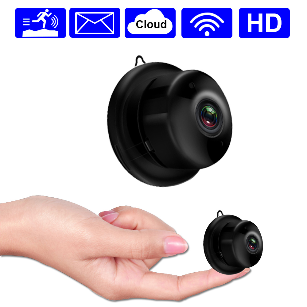 Mini IP Camera Wifi Wireless Home Security Camera Two Way Audio Infrared Night Vision Motion Detect Abnormal Alert Baby Monitor