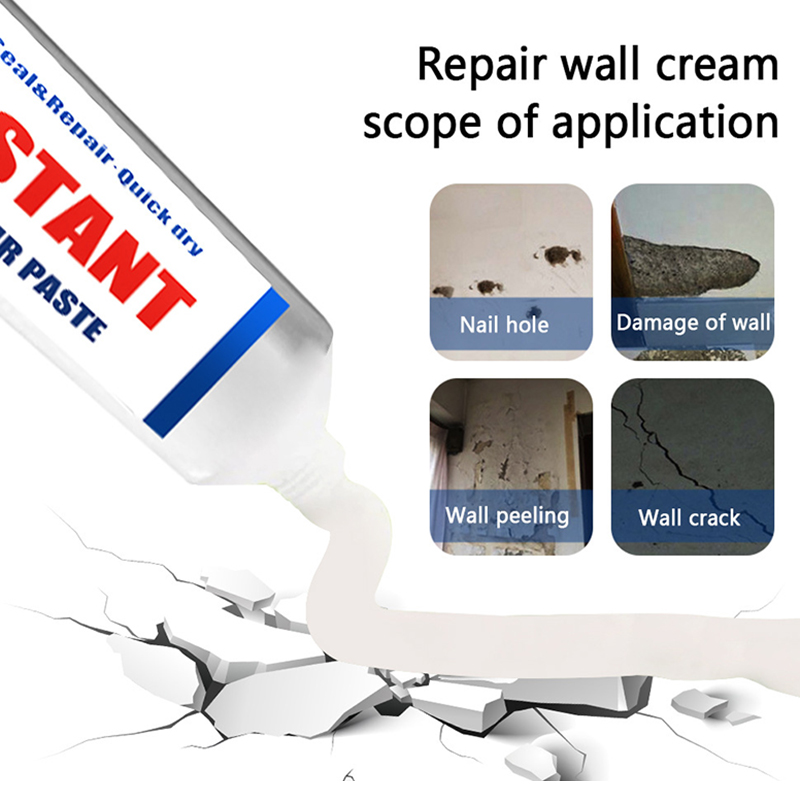 New Instant Repair Paste Professional Gaps Repair Cream Agent For Home Wall Concrete SF66