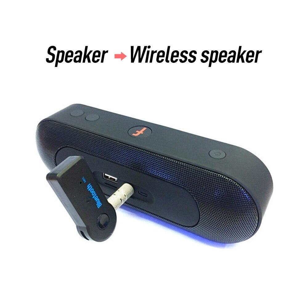 Bluetooth 4,0 аудио приемник передатчик 3,5 мм AUX Стерео адаптер для ПК ТВ psp Телефон Ipad видео плеер
